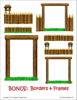 Build a Stockade Clip Art