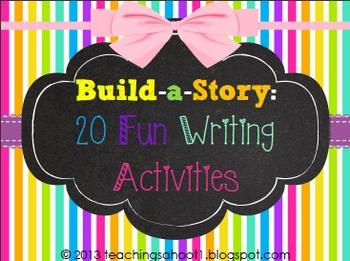 Build-a-Story: 20 Fun Writing Activities
