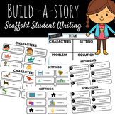 Build a Story Student Writing - Title, Characters, Setting