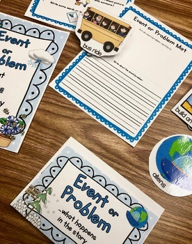 Story Elements: Setting, Characters, Problem:  Build-A-Story Writing Workshop