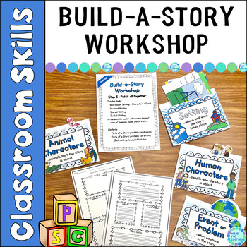 Story Elements: Setting, Characters, Problem:  Build-A-Sto
