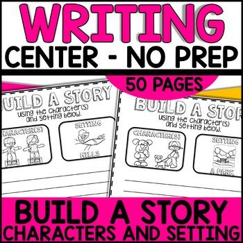 Build-a-Story Writing Center