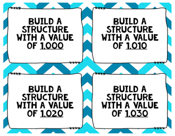 Build a Structure: Engaging Place Value Practice
