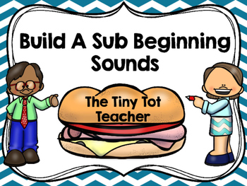 Build a Sub Beginning Letter Sounds Bundle