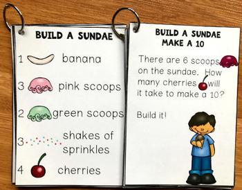 Build a Sundae Center Activities