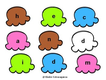 Build a Sundae Sight Word Game