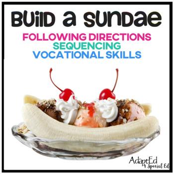 Build a Sundae Following Directions