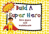 Build a Super Hero Game (and worksheets)