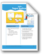 Build a Super Sentence (File Folder Center)