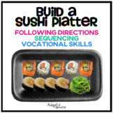 Build a Sushi Platter Following Directions
