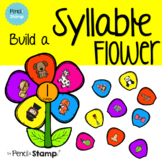 Build a Syllable Flower - Syllable Game