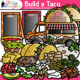 Build a Taco Clip Art: Cinco de Mayo & Spanish Graphics {Glitter Meets Glue}