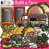 Build a Taco Clipart: Cinco de Mayo & Spanish Graphics {Glitter Meets Glue}