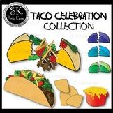 Build a Taco Collection Clip Art, Food Clip Art