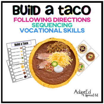 Build a Taco Following Directions