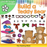 Build a Teddy Bear Clip Art