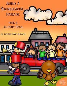 Build a Thanksgiving Parade Activity Pack