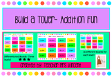 Build a Tower- Addition Fun