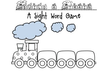 Build a Train- A sight word Game