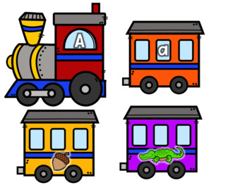 Build a Train ABC and Beginning Sounds