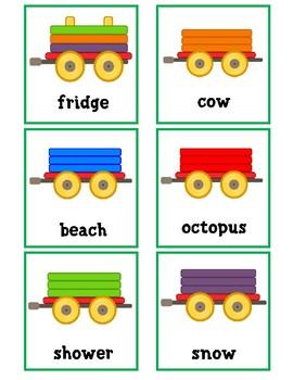 Build a Train Categories