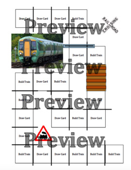 Build a Train Board Game with Visual