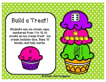 Build a Treat!  Numbers 1-10