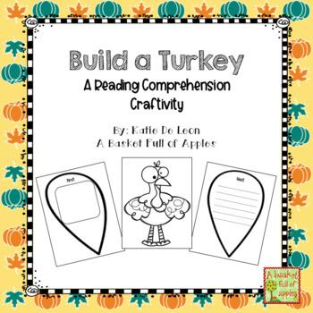 Build a Turkey: A Reading comprehension craftivity