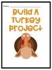 Build a Turkey Animal Adaptation Thanksgiving Project