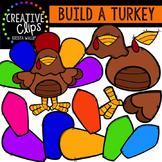 Build a Turkey {Creative Clips Digital Clipart}