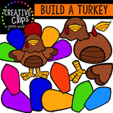 Build a Turkey {Creative Clips Digital Clipart}