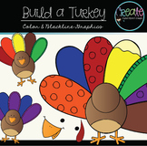 Build a Turkey - Digital Clipart