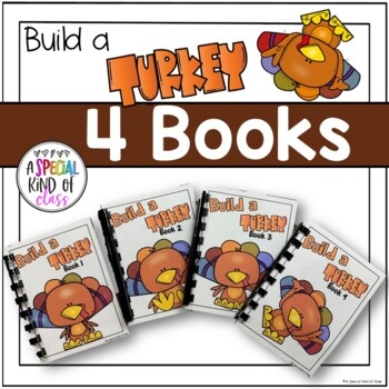 Adapted Books Build a Turkey