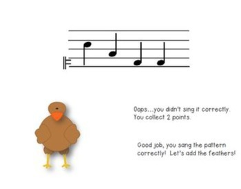 Build a Turkey Melodic Game {Do}