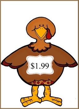 Build a Turkey Money Game