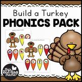 Build a Turkey Phonics Pack