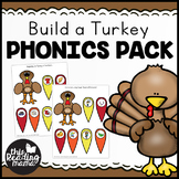 Build a Turkey Phonics Pack