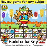 Thanksgiving Activities: Build a Turkey Review Game for An