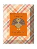Build a Turkey Sight Word Game