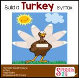 Build a Turkey-Syntax FREEBIE