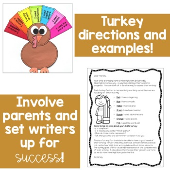 Turkey Writing Craft: A Writing Conventions Assessment