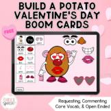 Build a Valentine Potato FREEBIE Boom Cards | Sentence Str
