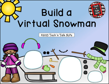 Build a Virtual Snowman for Individual & Group Therapy