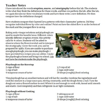 Build a Volcano! Explain Stratigraphy in Earth Science!