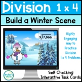 Build a Winter Scene 1 x 4 Division Boom Digital Task Cards