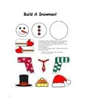 Build a Winter Snowman Template!