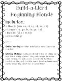 Build-a-Word Beginning Blends