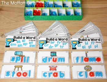 Build a Word (Blends Edition)