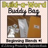 """""""Build-a-Word"""" Buddy Bag: Beginning Blends #1"""
