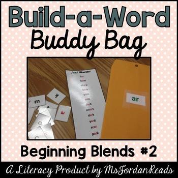 """""""Build-a-Word"""" Buddy Bag: Beginning Blends #2"""
